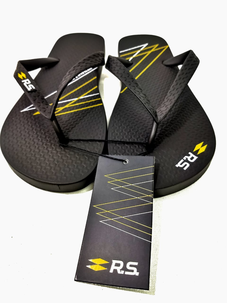 Chinelo New Graphic Renault Rs 43-44 - Chinelo - Preto - Uni